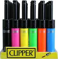 Picture of CLIPPER ELECTRONIC MINI TUBE 24CT LIGHTER DISPLAY ASSORTED