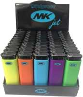 Picture of M.K JET NEON LIGHTERS (50CT)