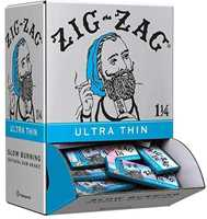Picture of ZIG-ZAG 1-1/4 ULTRA THIN ROLLING PAPERS 48CT DISPLAY BOX