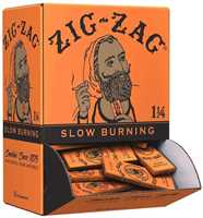 Picture of ZIG-ZAG1-1/4 FRENCH ORANGE ROLLING PAPERS 48CT DISPLAY BOX