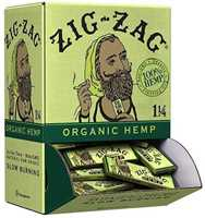 Picture of ZIG-ZAG 1-1/4 ORIGINAL HEMP ROLLING PAPERS 48CT DISPLAY BOX
