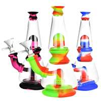 "Picture of 7"" SILICONE TWO CHAMBER LAVA LAMP"