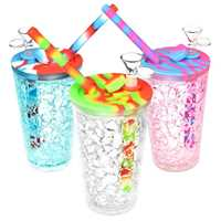 "6"" COOLING FREEZE TRAVEL CUP BUBBLER"