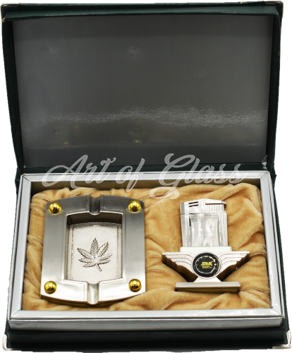 Picture of STAR LIGHTER & ASHTRAY DISLAY GIFT SET