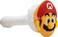 "Picture of 4"" SILICONE SUPER MARIO SPOON"