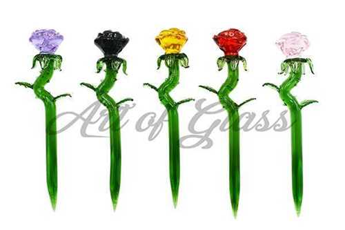 """Picture of 6"""" MULTI COLOR ROSE DAB TOOL"""