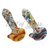 "Picture of 5"" CONFETTI PIPE w/ MARBLE HEAD"