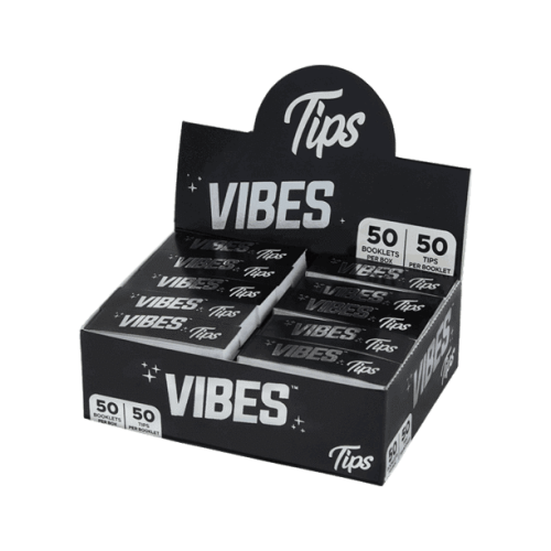 Picture of VIBES ROLLING PAPERS TIPS - 50ct DISPLAY