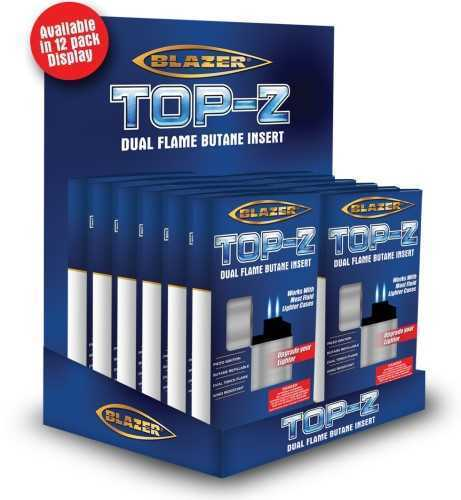 Picture of BLAZER TOP Z DUAL FLAME BUTANE INSERT - 12ct DISPLAY