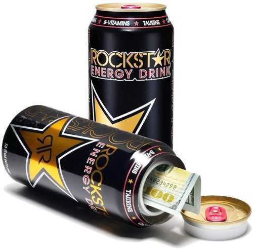"Picture of 6"" ROCKSTAR ENERGY STASH CAN"