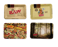 "Picture of SMALL RAW  ROLLING TRAY 5""x7"" (DESIGNS)"
