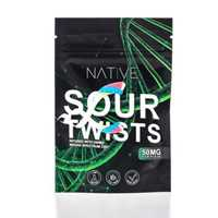 Picture of NATIVE CBD SOUR TWISTS 250mg