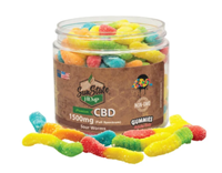 Picture of SUNSTATE FULL SPECTRUM SOUR WORM GUMMIES - 1500mg