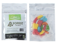 Picture of FOREST HEMP 250mg SOUR GUMMY WORMS