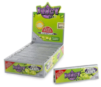 "Picture of JUICY JAYS ULTRA THIN HEMP PAPERS WHITE GRAPE 1-1/4"" (24ct)"