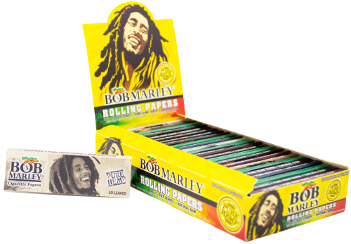 Picture of BOB MARLEY ROLLING PAPERS - 1 1/4 - 25ct