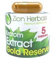 Picture of ZION HERBALS KRATOM EXTRACT CAPSULES 5CT