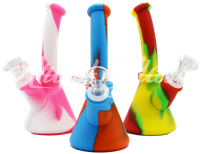 "Picture of 7"" SILICONE BEAKER WATER PIPE"