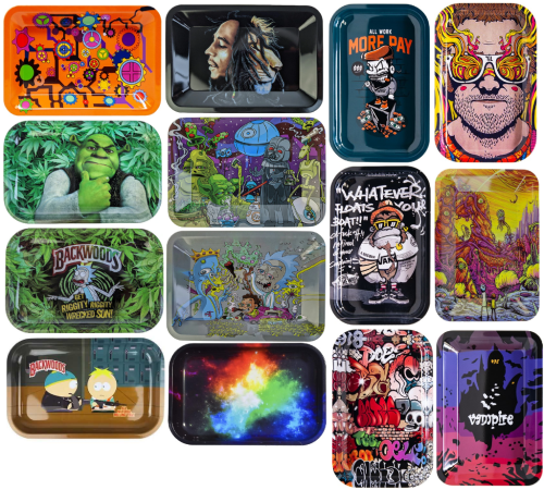 """Picture of SMALL ROLLING TRAY (5"""" x 7"""")"""