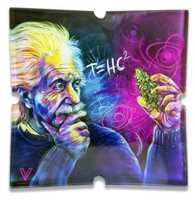 Picture of V SYNDICATE EINSTEIN T=HC2 GLASS ASHTRAY