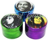 Picture of 4 PART BOB MARLEY GRINDER 2.2""