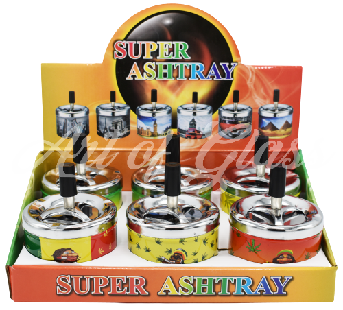 Picture of SUPER SPINNING ASHTRAY 6CT DISPLAY