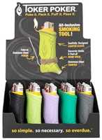 Picture of TOKER POKER MULTICOLOR LIGHTER SLEEVE - 25ct DISPLAY
