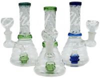 "Picture of 6"" TWISTED NECK BEAKER w/ INLINE SHOWERHEAD"