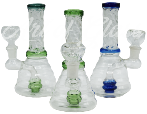 """Picture of 6"""" TWISTED NECK BEAKER w/ INLINE SHOWERHEAD"""