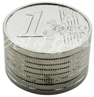 Picture of 50mm 3 PART SILVER COIN GRINDER - SINGLE