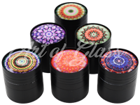 """Picture of 1.5"""" 4 PART PSYCHEDELIC GRINDER - SINGLE"""