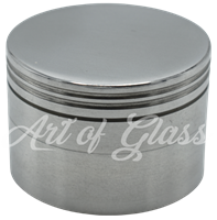 Picture of 50mm 4 PART MEDIUM SILVER GRINDER