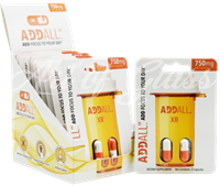 Picture of ADDALL XR 750mg - ENERGY | FOCUS | CONCENTRATION - 12pk DISPLAY