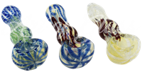 """Picture of 3"""" FUMED w/ ROPES & RIBBONS"""