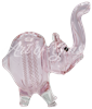 "Picture of 4"" PINK ELEPHANT w/ RIBBONS"