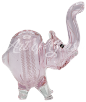 """Picture of 4"""" PINK ELEPHANT w/ RIBBONS"""