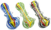"""Picture of 3"""" ROPES w/ FUMED HEAD & MARBLES"""