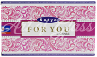 Picture of SATYA FOR YOU INCENSE STICKS 12pk 15g