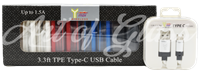 Picture of 3.3' TPE TYPE-C USB CABLE (10ct)