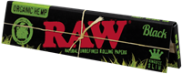 Picture of RAW BLACK ORGANIC HEMP KING SIZE ROLLING PAPERS