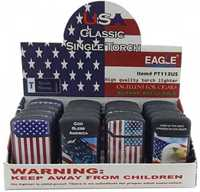 Picture of EAGLE TORCH US FLAG SQUARE TORCH (20CT)