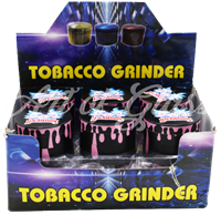 Picture of 50mm R/M BACKWOODS PINK DRIP FULL WRAP GRINDERS (12ct DISPLAY)