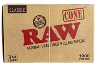 """Picture of RAW 1-1/4"""" CONES - 1000ct"""