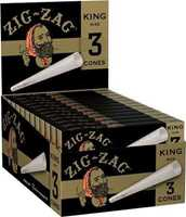 Picture of ZIG-ZAG KING SIZE CONES 3pk 24ct