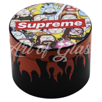 Picture of 50mm R/M SUPREME FULL WRAP GRINDER - 12ct DISPLAY
