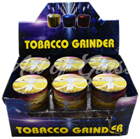 Picture of 50mm R/M YELLOW FIELD FULL WRAP GRINDER - 12ct DISPLAY