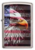 Picture of EAGLE FLAG ZIPPO LIGHTER