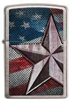 Picture of RETRO STAR ZIPPO LIGHTER