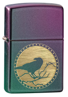 Picture of RAVEN DESIGN ZIPPO LIGHTER