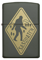 Picture of SASQUATCH DESIGN ZIPPO LIGHTER
